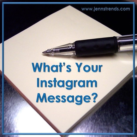 What's Your Instagram Message?   Business in a Social Media World   Scoop.it