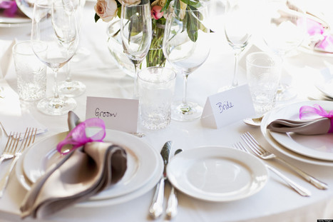 How Catering Works at a Destination Wedding: A Bridal Etiquette Primer - Huffington Post | Invitations By Dannye | Scoop.it