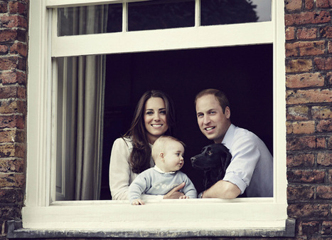 Cute family photo alert: William, Kate pictured with Prince George | latest fashion trends | Scoop.it