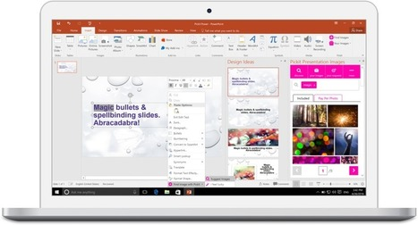 Microsoft announces Zoom, a new way to create interactive presentations in PowerPoint | Digital Presentations in Education | Scoop.it