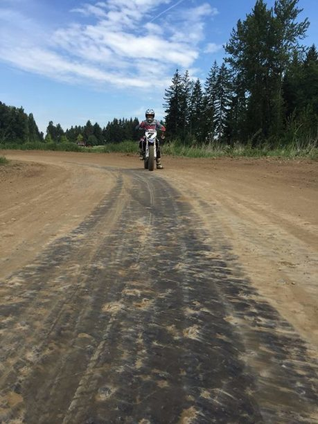 Did a 107 lap session around my track this morning. Now I'm ready for AMA Pro Fl... | California Flat Track Association (CFTA) | Scoop.it