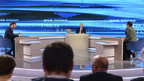 Putin: 'Nonsense - no Russian troops, special services in east Ukraine' | Lies About Ukraine | Scoop.it