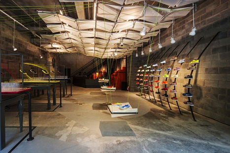 A Swoosh of Sustainability: Nike Builds Store Out of 100% Trash | Zero Footprint | Scoop.it