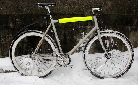 Studded Tires, Fixed-Gear... Customized Rig Is 'Ultimate Urban Winter Bike' | Gear for Cyclists | Scoop.it