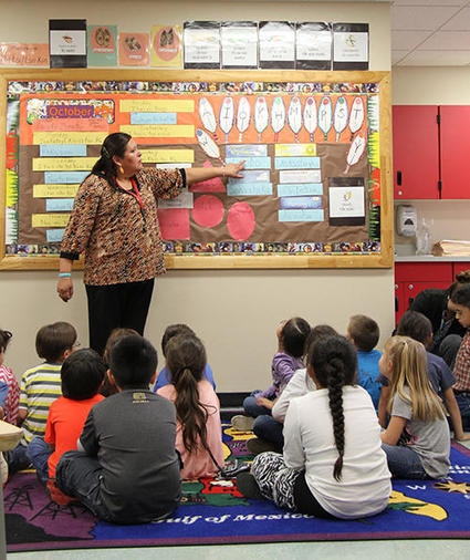 Browning First To Use Native Language Immersion Funds | Indigenous Language Education and Technology | Scoop.it