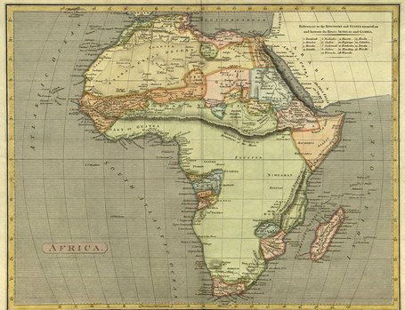Africa Map Collection | Map@Print | Scoop.it