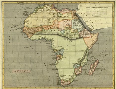 Africa Map Collection | Go Geo | Scoop.it