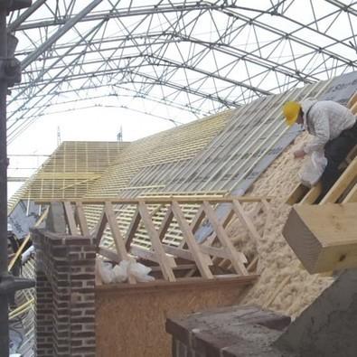 [Rénovation] Isolation de la médiathèque de Fontainebleau en chanvre | BIOFIB - Isolation écologique | Scoop.it