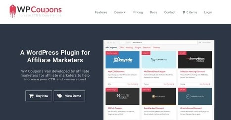WP Coupons - A WordPress Plugin for Affiliate Marketers | WordPress Plugins | Scoop.it
