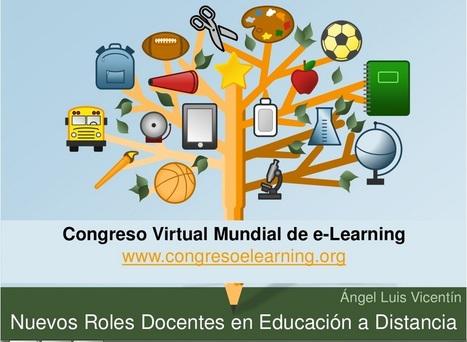 Congreso Virtual Mundial de e-Learning. Nuevos Roles Docentes en la #Educacion a Distancia (videoconferencia). | Educacion, ecologia y TIC | Scoop.it