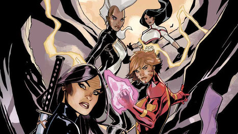 G. Willow Wilson Makes Hers Marvel - Exclusively | Ladies Making Comics | Scoop.it