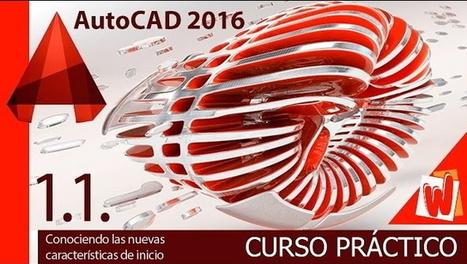 Curso gratis de AutoCAD en Español | El Mundo del Diseño Gráfico | Scoop.it
