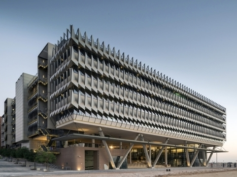Siemens Middle East Headquarters by Sheppard Robson | sustainable architecture | Scoop.it