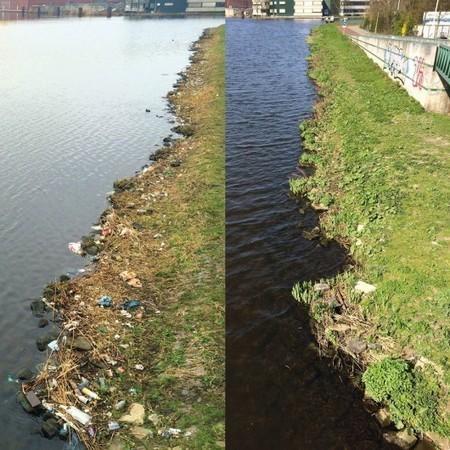 Ramasser, seul, des déchets au bord d'une rivière n'est pas vain | Ca m'interpelle... | Scoop.it