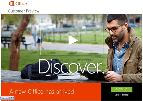 Microsoft's Newest Version Of Office Adds Many New Features Including Skype And Yammer Integration | MobileandSocial | Scoop.it