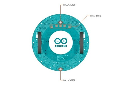 Arduino - Robot - the first official Arduino on wheels | Heron | Scoop.it