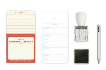 Personal Library Kit - GalleyCat | Public Library Circulation | Scoop.it