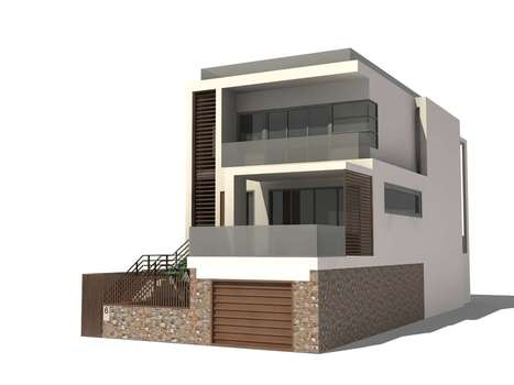 3D Residential House Model | Architecture Engineering & Construction | Scoop.it