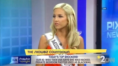 Webcam spying goes mainstream as Miss Teen USA describes hack | Technoculture | Scoop.it