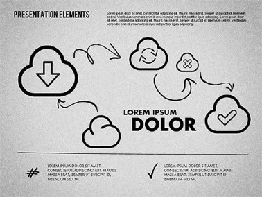 Hand Drawn Style Presentation Shapes   Diagrams and Charts for Presentations   Scoop.it