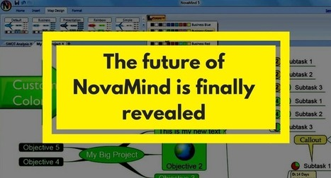 NovaMind mind mapping software has been sold to a former employee | Medic'All Maps | Scoop.it