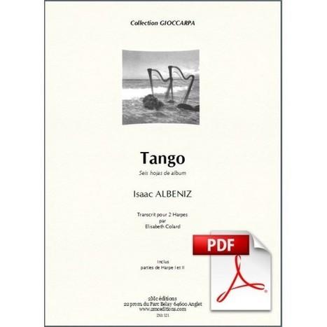 Albeniz - Tango pour deux harpes   A propos de harpe   Scoop.it