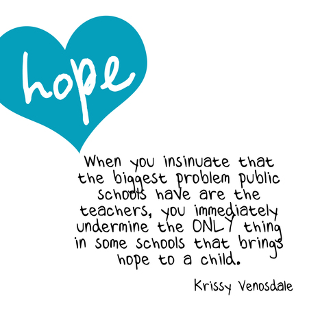Stealing Hope – krissy venosdale | Professional Learning for Busy Educators | Scoop.it