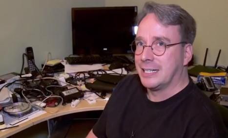 Linus Torvalds' Workspace Is Nothing Like I Imagined (Video) - OMG! Ubuntu! | EEDSP | Scoop.it