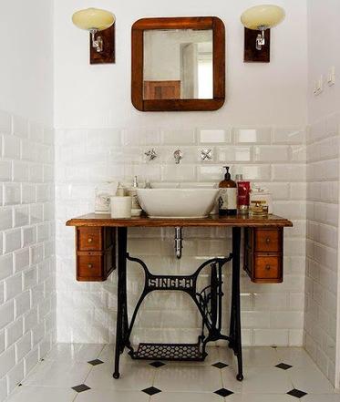 Une idée pour votre vasque de salle de bains » Astuces Deco et Design pour la maison   Accessoires salle de bains   Scoop.it