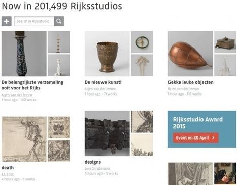 Clic France / Martijn Pronk (Rijksmuseum): «Le Rijksstudio a attiré quelques 15 millions de visites pour 200 000 comptes personnels créés» | Clic France | Scoop.it