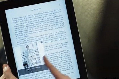 Interactive ebooks take on fiction novels | iPad Apps for Education | Scoop.it