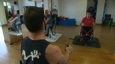 Antibes: faire du fitness en fauteuil roulant - France 3   vie pratique   Scoop.it