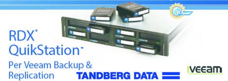 Tandberg Data annuncia la verifica di tutta la sua linea di prodotti per l'ultima release software per la virtualizzazione di Veeam Backup & Replication™ v7 | ICT | Scoop.it