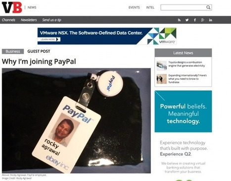 PayPal Parts Ways With Strategy Exec Who Went on Twitter Tirade - Re/code | Corporate Social Business | Scoop.it
