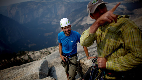 For Wounded Vets, Climbing Half Dome Only Half The Mission - NPR   Military   Scoop.it