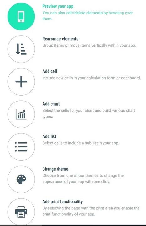 Je viens de créer ma première application mobile à partir d'Excel :) – Le CFO masqué | MSExcel | Scoop.it