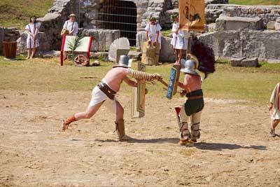 Gladiators Training | Ave Caesar, morituri te salutant! | Scoop.it