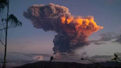 Tungurahua volcano: Spectacular pictures capture eruption in Ecuador | Geology | Scoop.it
