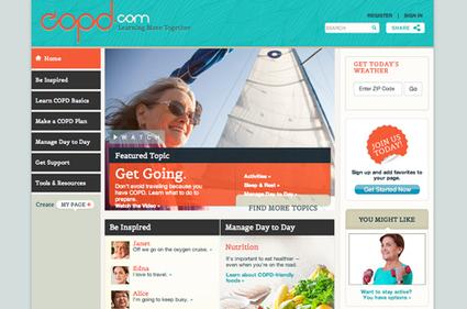 GSK relaunches COPD website   Marketing digital des laboratoires pharmaceutiques   Scoop.it