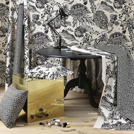 La collection Louisiane de Lorca   Décoration d'intérieur, tissus et papiers peints de luxe   Scoop.it