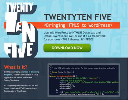 Using HTML5 To Transform WordPress' TwentyTen Theme   Smashing WordPress   working with Wordpress   Scoop.it