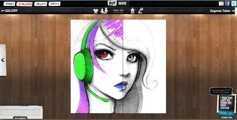 Psykopaint, crea y edita tus obras de arte | Maestros del Web | EDUDIARI 2.0 DE jluisbloc | Scoop.it