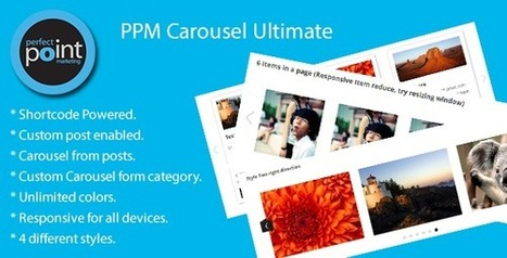 PPM Carousel Ultimate (Sliders) | Konu | Scoop.it