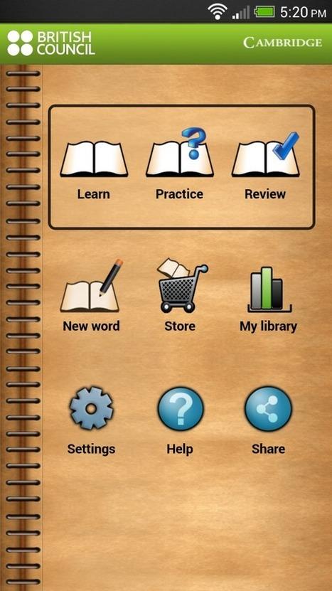 Apps   LearnEnglish   British Council   MyWordBook 2   Zentrum für multimediales Lehren und Lernen (LLZ)   Scoop.it