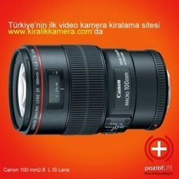Canon DSLR Lensleri | Kiralık Kamera, Rental Camera House, In Turkey | Scoop.it