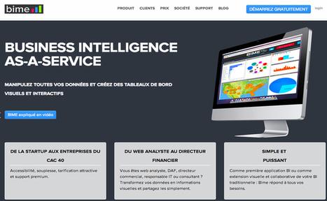 BIME, la start-up française spécialiste de l'analyse de données, part à la conquête du marché américain | Startups | Scoop.it