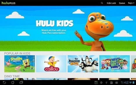 Hulu Plus for Android adds new Kids section, squashes a few bugs | Kids-friendly technologies | Scoop.it