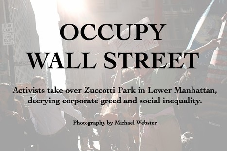 Occupying America   American-Journal   #OccupyWallstreet   Scoop.it