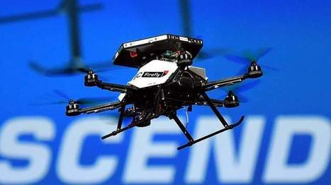 Intel Shows Off Ducking And Diving Drone | Technology in Business Today | Scoop.it