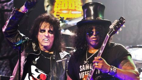 Alice Cooper Talks Guns N' Roses Reunion: 'Where's Izzy?' | Small Business News and Information | Scoop.it